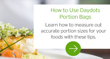 How to Use Daydots Portion Bags