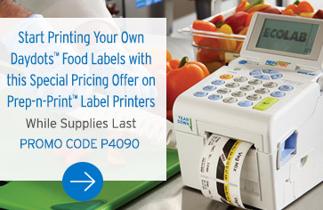 special offer on food labeling printers