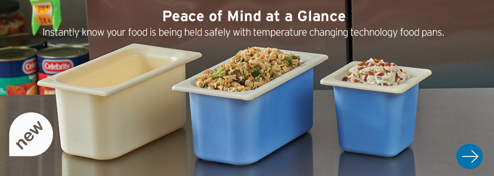temperature changing technology food pans
