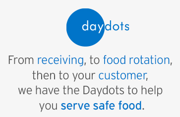 Serve safe food with Daydots