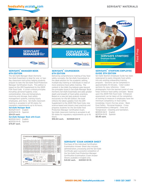 Ecolab Food Safety Solutions Sept Dec 2014 Page 79