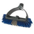 DuraLoc Deck Brush - Blue