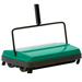 This commercial wet/dry sweeper is perfect for foodservice operations. It features four corner brushes and a floating head with rubber blades that are effective on hard floors or carpet. The soft rubber wheels conform to a variety of floor surfaces.