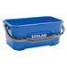 This durable and stylish window cleaning bucket is constructed of durable polypropylene for trouble-free use. Its 3-gallon capacity is the perfect size, and its vented handle ensures a secure grip for easy transport.